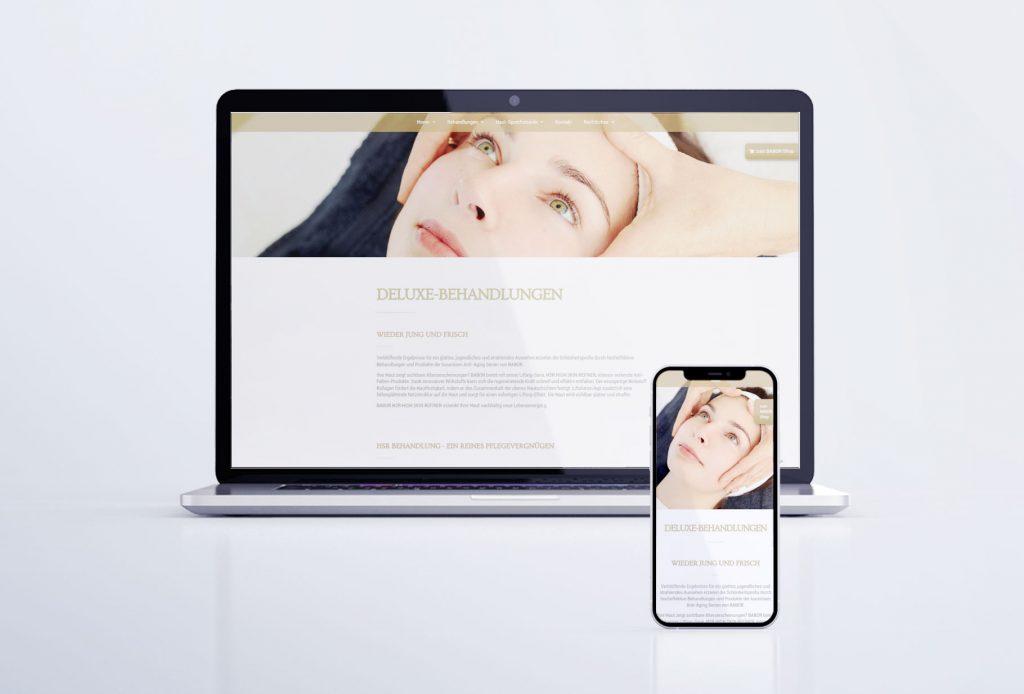 """Webseite """"Beauty Shop Viola Heidel"""" Reichenbach"""