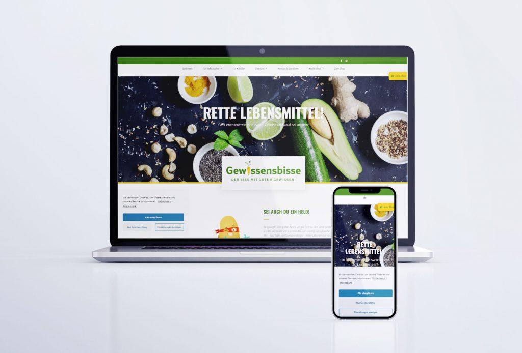 """Webseite und WooCommerce-Shop """"Gewissensbisse"""" Lengenfeld"""
