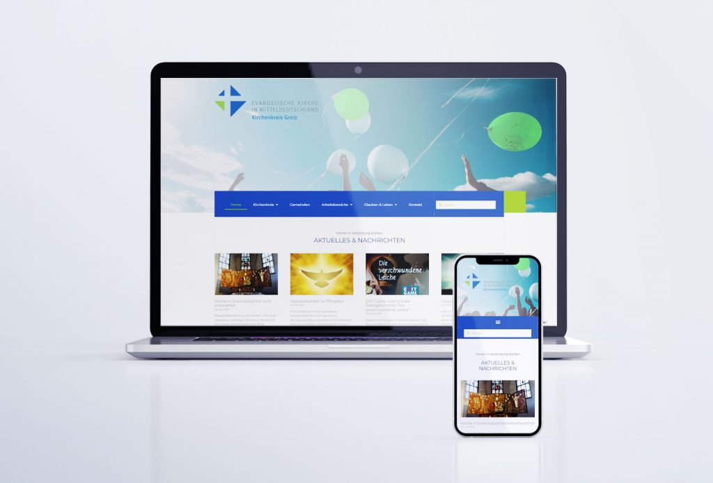 Webseite des Evangelisch-Lutherischen Kirchenkreises Greiz